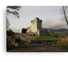 Early morning at Ross Castle Canvas Print
