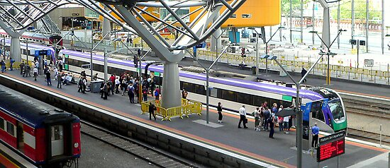 Southern Cross Station II by Tom Newman