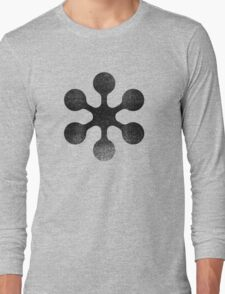 Circle Study - Black Long Sleeve T-Shirt