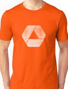 Overlap - White Unisex T-Shirt