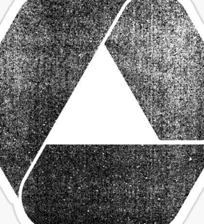 Overlap - Black Sticker