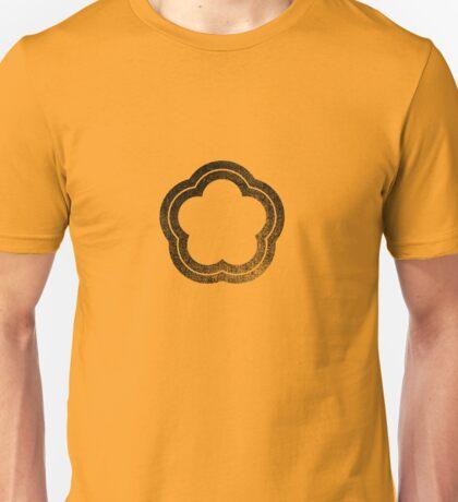 Flower - Black Unisex T-Shirt
