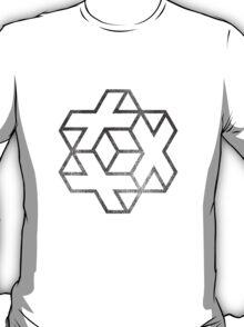 IsoCross - Black  T-Shirt