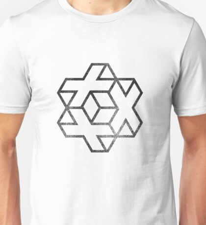 IsoCross - Black  Unisex T-Shirt