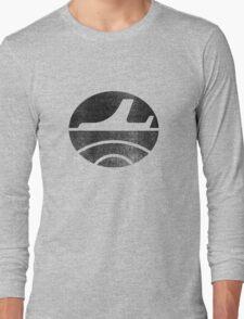 Travel - Black Long Sleeve T-Shirt