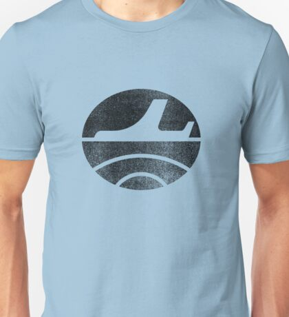 Travel - Black Unisex T-Shirt