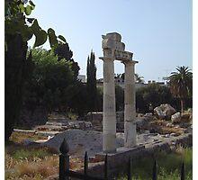 The Altar of Dionysus.......Kos.... Photographic Print