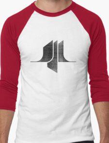 Sci-Fi - Black Men's Baseball ¾ T-Shirt
