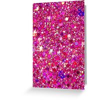 Glitter 3 Greeting Card