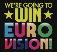 We're going to WIN EUROVISION! by jazzydevil
