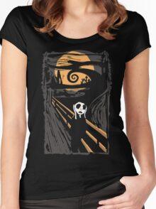 Jack Skellington Scream Women's Fitted Scoop T-Shirt