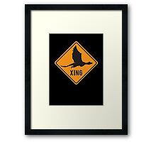 Crypto Xing - Dragon Framed Print