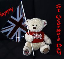 Saint George's Day Teddy by missmoneypenny