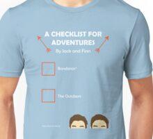 JACKSGAP Adventure Checklist Unisex T-Shirt