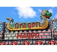 Dragon Wagon Photographic Print