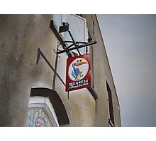 Killarney pub sign Photographic Print