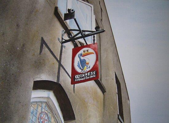 Killarney pub sign by Brian Degnon