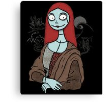 The Mona Sally Canvas Print
