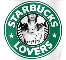 Starbucks Lovers Blank Space Taylor Swift Poster