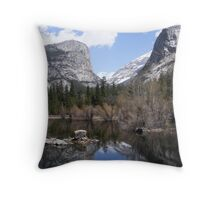 Mirror Lake ~ Yosemite National Park Throw Pillow