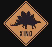 Prehistoric Xing - Stegosaurus One Piece - Short Sleeve
