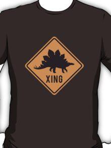 Prehistoric Xing - Stegosaurus T-Shirt
