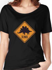 Prehistoric Xing - Stegosaurus Women's Relaxed Fit T-Shirt