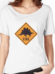 Prehistoric Xing - Stegosaurus Women's Relaxed Fit T-Shirt