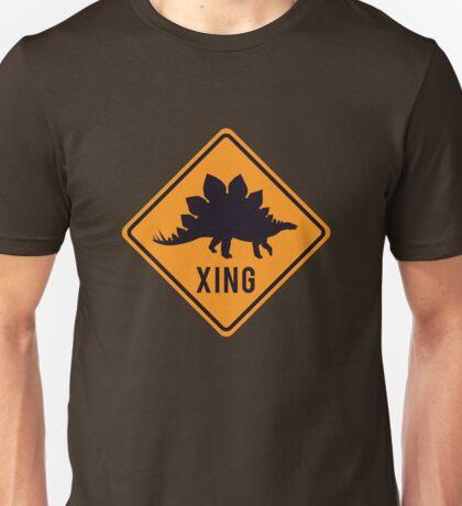 Prehistoric Xing - Stegosaurus Unisex T-Shirt