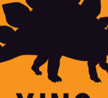 Prehistoric Xing - Stegosaurus Sticker