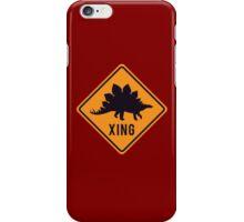 Prehistoric Xing - Stegosaurus iPhone Case/Skin