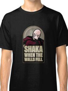 Shaka, When the Walls Fell Classic T-Shirt