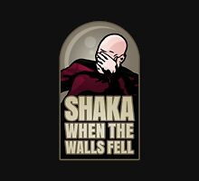 Shaka, When the Walls Fell Unisex T-Shirt