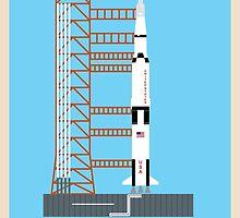 Saturn V (Day) by fmsdesigns