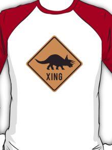 Prehistoric Xing - Triceratops T-Shirt