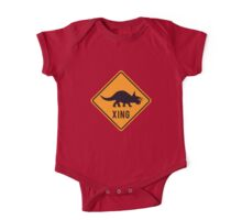 Prehistoric Xing - Triceratops One Piece - Short Sleeve