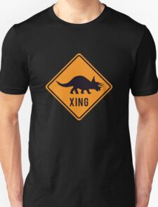 Prehistoric Xing - Triceratops T-Shirt