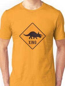 Prehistoric Xing - Triceratops Unisex T-Shirt