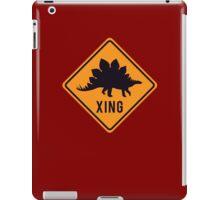 Prehistoric Xing - Stegosaurus iPad Case/Skin