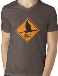 Crypto Xing - Dragon Mens V-Neck T-Shirt