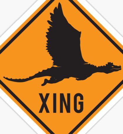 Crypto Xing - Dragon Sticker