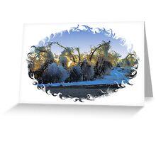 NORTH DAKOTA .............ICESCAPE Greeting Card