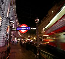 London Tube by swight
