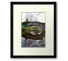 The Pack Horse Bridge at West Burton Framed Print