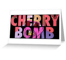 'Cherry Bomb' Alternate Album Cover Greeting Card