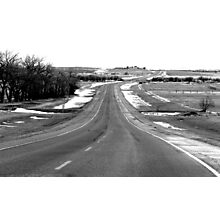 Road back to Town Photographic Print