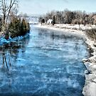 Winter River by terrebo