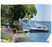 A postcard from Germany (Überlingen am Bodensee) Poster
