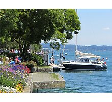 A postcard from Germany (Überlingen am Bodensee) Photographic Print