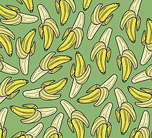 BANANA - GREEN by tosojourn